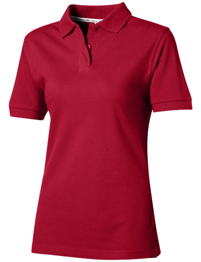 33S03•FOREHAND POLO WOMEN, L, dark red (28)