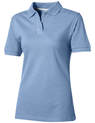 33S03•FOREHAND POLO WOMEN, L, light blue (40)