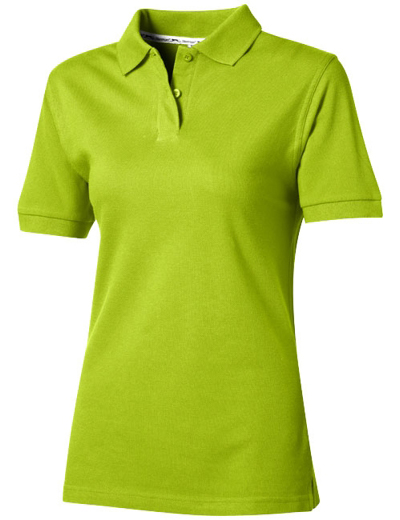 33S03•FOREHAND POLO WOMEN, L, apple green (72)