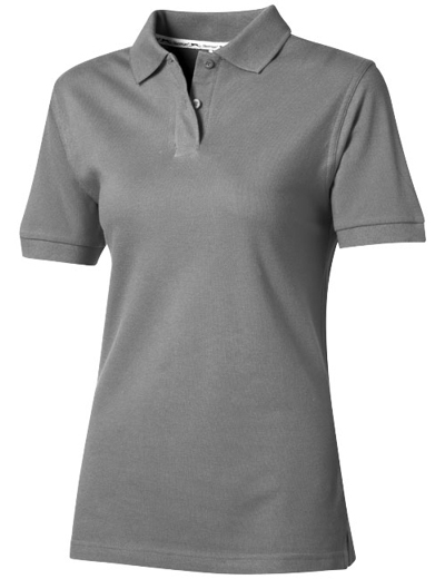 33S03•FOREHAND POLO WOMEN, L, grey (90)