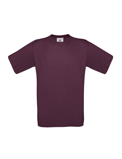 B02•B&C EXACT 150, 2XL,  OUT-burgundy (08)