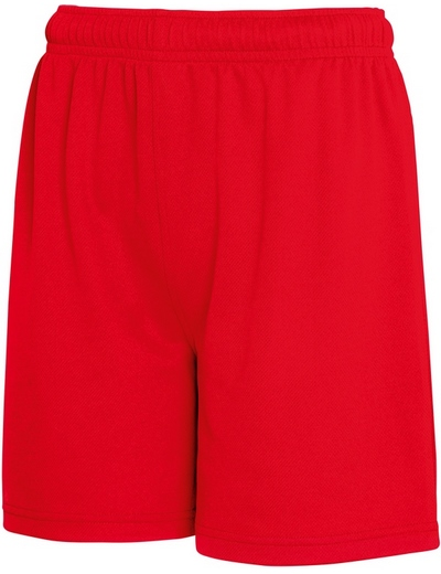 FN45•KIDS PERFORMANCE SHORT , 12//13, red (05)