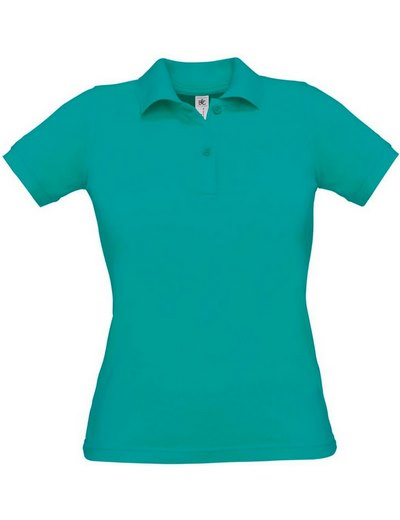 O24•B&C SAFRAN PURE WOMEN, L, real turquoise (54)