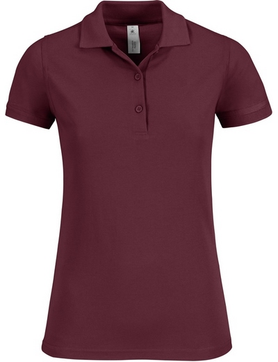 O54•B&C SAFRAN TIMELESS WOMEN, L, burgundy (08)