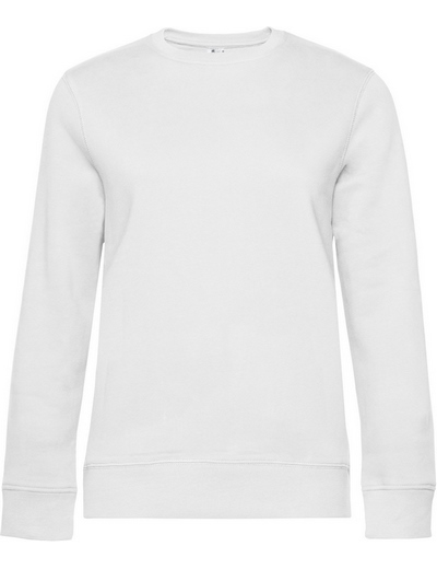 O83•B&C QUEEN CREW NECK, 2XL, white (01)