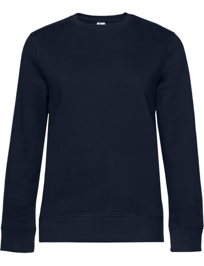 O83•B&C QUEEN CREW NECK, 2XL, navy blue (04)