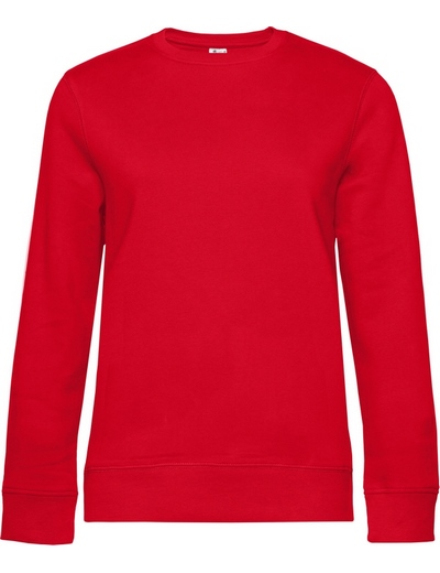 O83•B&C QUEEN CREW NECK, 2XL, red (05)