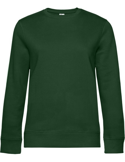 O83•B&C QUEEN CREW NECK, 2XL, bottle green (06)