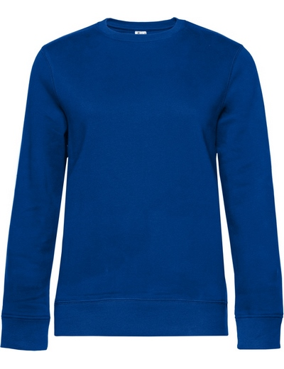 O83•B&C QUEEN CREW NECK, 2XL, royal (07)