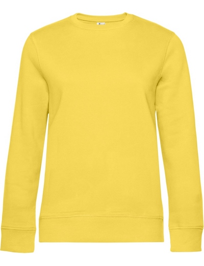 O83•B&C QUEEN CREW NECK, 2XL, yellow fizz (09)