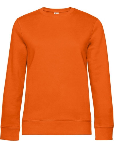 O83•B&C QUEEN CREW NECK, 2XL, pure orange (10)