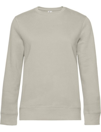 O83•B&C QUEEN CREW NECK, 2XL, grey fog (11)