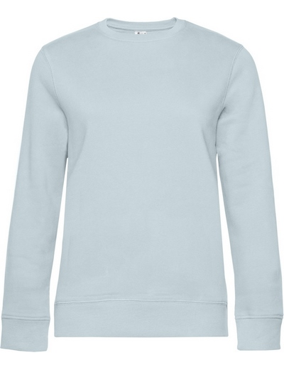 O83•B&C QUEEN CREW NECK, 2XL, pure sky (12)
