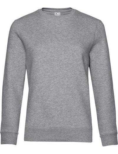 O83•B&C QUEEN CREW NECK, 2XL, heather grey (15)