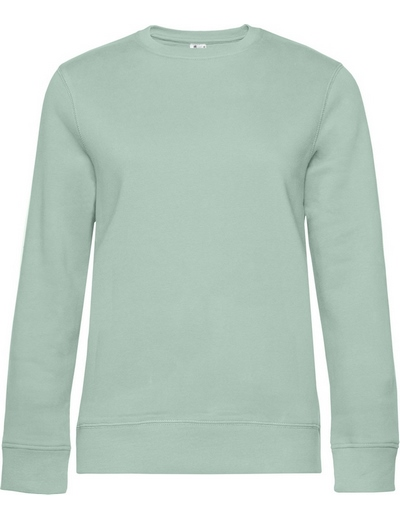 O83•B&C QUEEN CREW NECK, 2XL, aqua green (21)