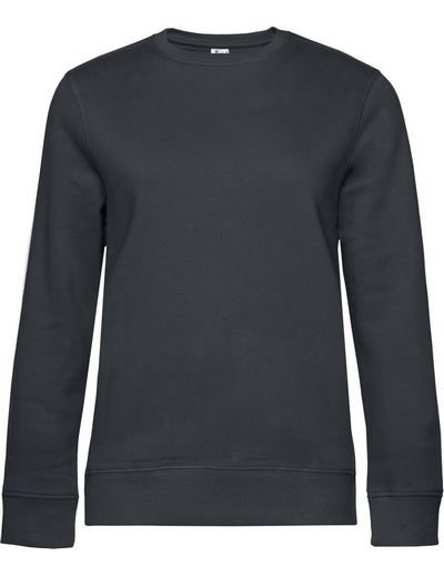 O83•B&C QUEEN CREW NECK, 2XL, asphalt (23)