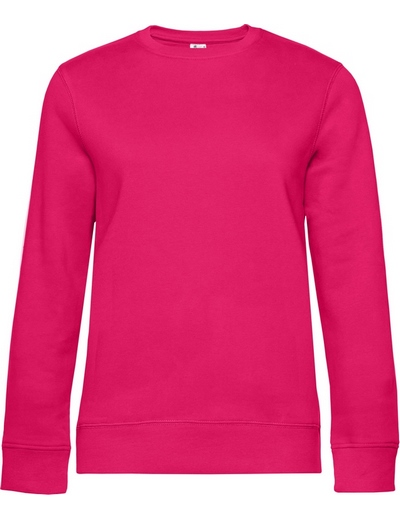O83•B&C QUEEN CREW NECK, 2XL, magenta pink (28)
