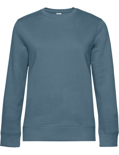 O83•B&C QUEEN CREW NECK, 2XL, nordic blue (29)