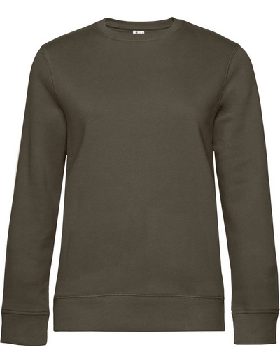 O83•B&C QUEEN CREW NECK, 2XL, khaki (33)
