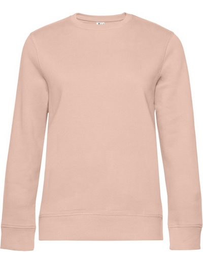 O83•B&C QUEEN CREW NECK, 2XL, soft rose (35)