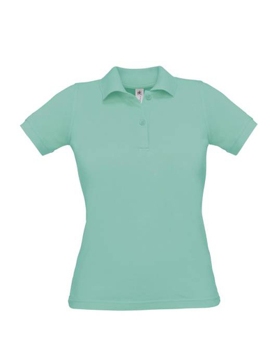 O24•B&C SAFRAN PURE WOMEN, L,  OUT-pixel turquoise (40)